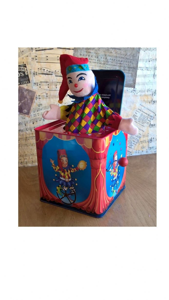 Musical Clown Jack In The Box